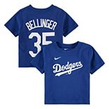 Infant Nike Cody Bellinger Royal Los Angeles Dodgers Player Name & Number T-Shirt