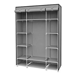 Home Basics Non-Woven Free-Standing Storage Closet