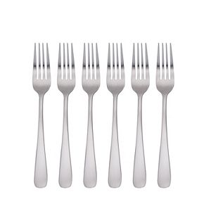 Food Network? 6-pc. Classic Silver Dinner Fork Set