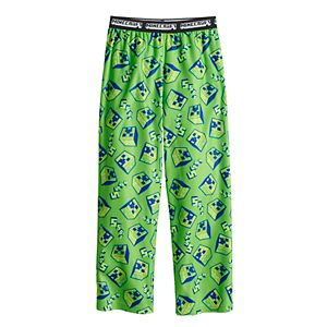 Boys 4-20 Minecraft Pajama Pants