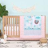 PS by The Peanutshell Llama Love 3 Piece Crib Bedding Set