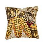 Liora Manne Frontporch Corn Indoor Outdoor Throw Pillow