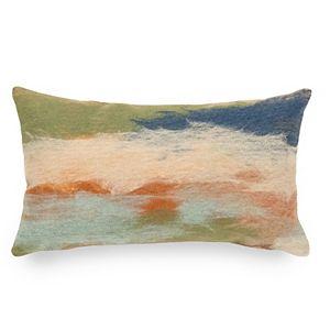 Liora Manne Visions I Vista Indoor Outdoor Oblong Throw Pillow