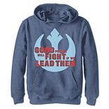 Boys 8-20 Star Wars: The Rise Of Skywalker Good People Fight Rebel Pullover Graphic Hoodie
