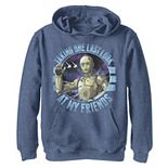 Boys 8-20 Star Wars: The Rise Of Skywalker C-3PO Taking One Last Look Pullover Graphic Hoodie