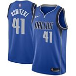 Men's Nike Dirk Nowitzki Royal Dallas Mavericks Swingman Jersey - Icon Edition