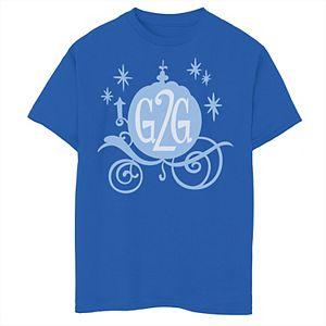 Disney's Wreck It Ralph Boys 8-20 2 Comfy Princess Cinderella G2G Graphic Tee
