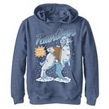 Boys 8-20 Star Wars Tauntaun Stay Warm On Hoth Comic Portrait Pullover Graphic Hoodie