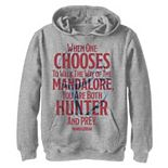 Boys 8-20 Star Wars The Mandalorian You Are Both Hunter And Prey Pullover Graphic Hoodie