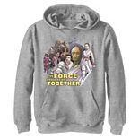 Boys 8-20 Star Wars: The Rise Of Skywalker Force Brought Us Together Pullover Graphic Hoodie