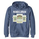 Boys 8-20 Star Wars The Mandalorian The Child aka Baby YodaCartoon Panels Pullover Graphic Hoodie