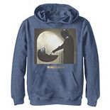 Boys 8-20 Star Wars The Mandalorian The Child aka Baby YodaScene Logo Pullover Graphic Hoodie