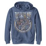 Boys 8-20 Star Wars The Mandalorian Group Shot This Is The Way Pullover Graphic Hoodie