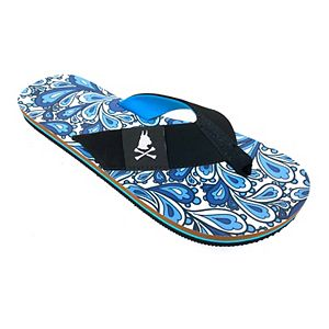 Nick Graham Perry Paisley Men's Flip Flop Sandals