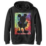 Disney's Mickey Mouse Boys 8-20 Tie Dye Silhouette Pullover Graphic Hoodie