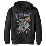 Boys 8-20 DC Comics Superman Electrified Fleece Pullover Hoodie