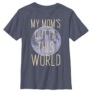 Boys 8-20 Out Of This World Mom Moon Mother's Day Graphic Tee
