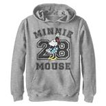 Disney's Minnie Mouse Boys 8-20 Varsity #28 Portrait Graphic Hoodie