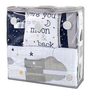 Wendy Bellissimo Celestial 4 Piece Crib Bedding Set