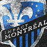 Women's Fanatics Branded Black Montreal Impact Distressed Team Speckled Fleece Pullover Hoodie