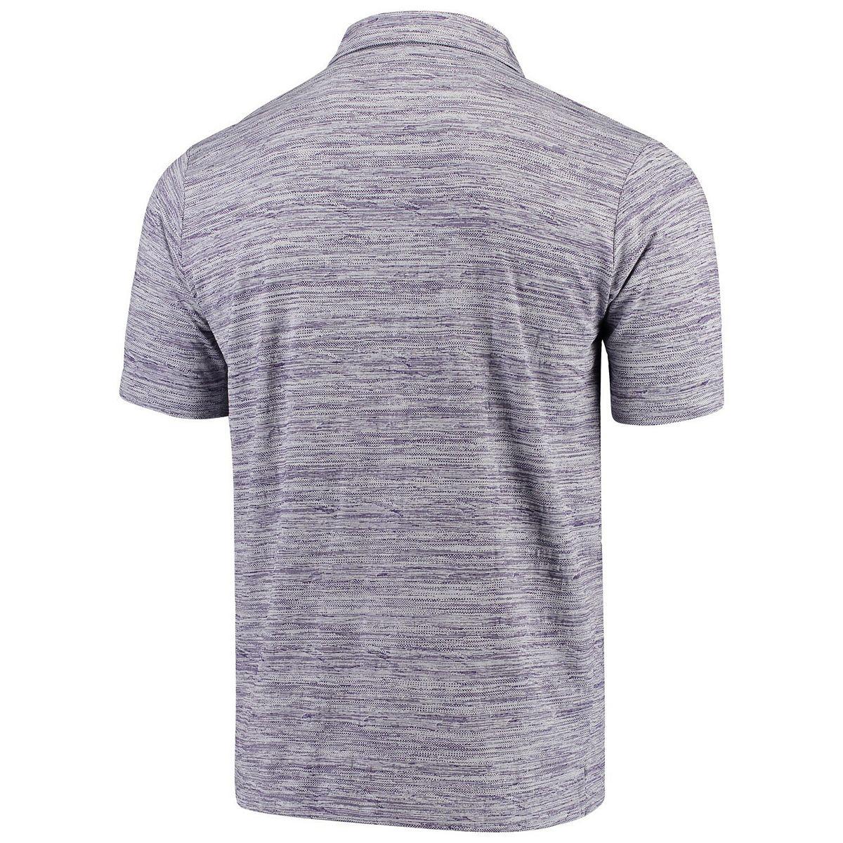 Men's Antigua Purple/Heathered Gray Orlando City SC Possession Polo h00yJ