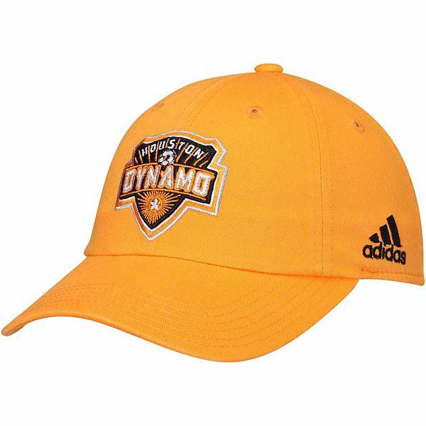 Youth adidas Orange Houston Dynamo Team Slouch Adjustable Hat