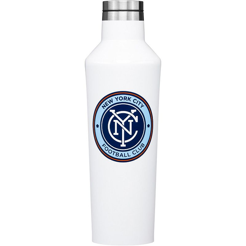 Corkcicle New York City FC 16oz. Canteen. White
