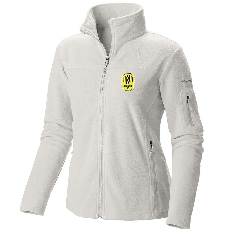 Women's Columbia Gray Nashville SC Give & Go Full-Zip Jacket. Size: Small. White