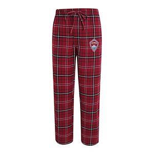Men's Concepts Sport Maroon Colorado Rapids Ultimate Flannel Pajamas