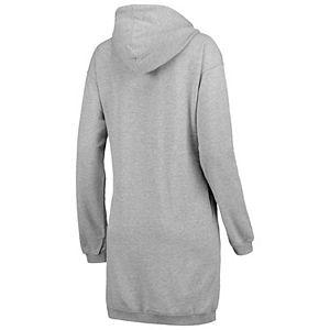 Women's ZooZatz Heathered Gray Atlanta United FC Focus Sweatshirt Dress