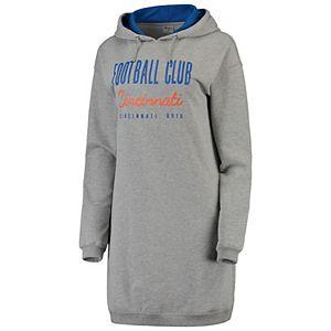 Women's ZooZatz Heathered Gray FC Cincinnati Focus Sweatshirt Dress