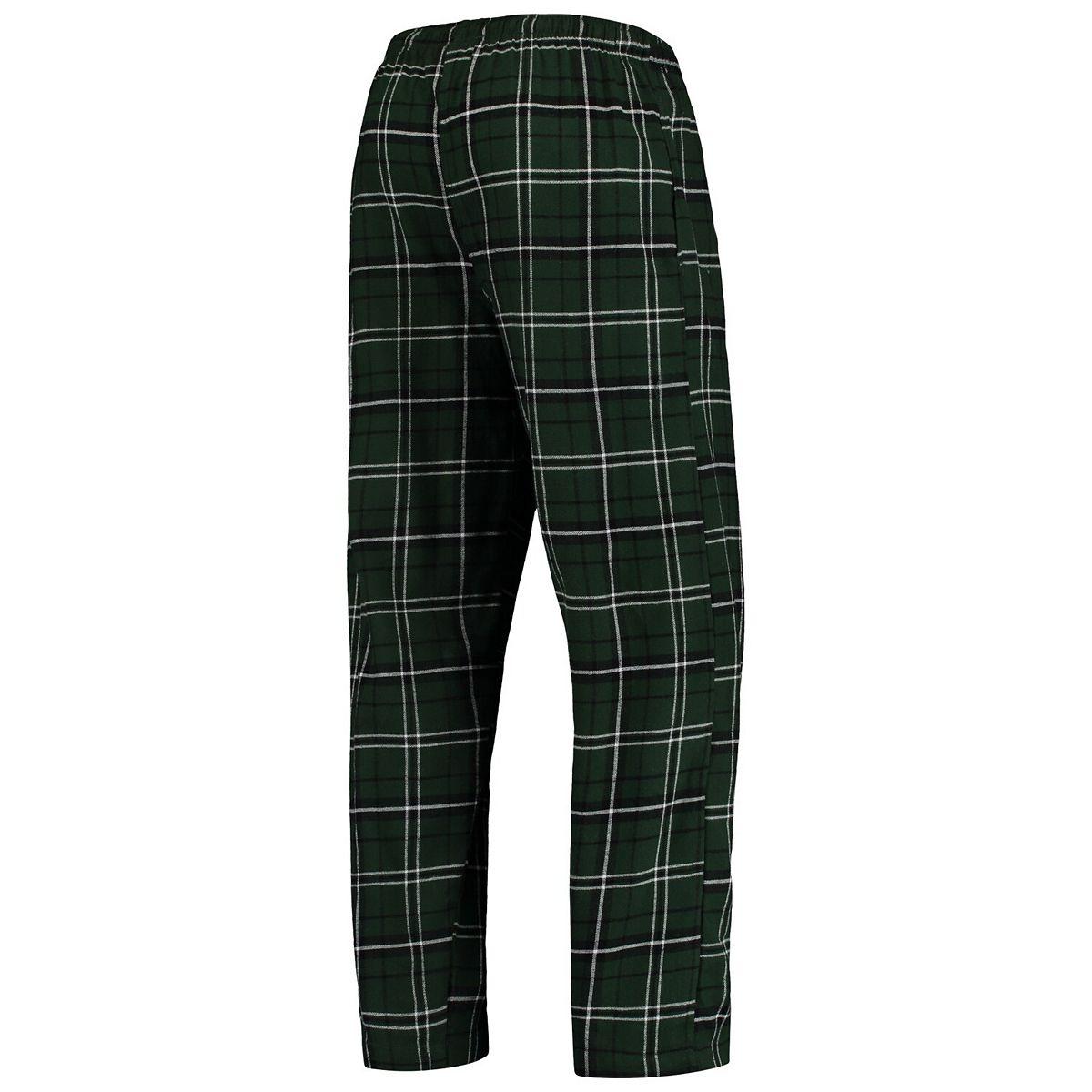 Men's Concepts Sport Green/Black Portland Timbers Ultimate Flannel Sleep Pants L2jiq