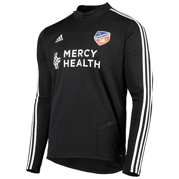 Men's adidas Black FC Cincinnati 2019 Team Training Long Sleeve Jersey