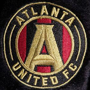 Men's The Northwest Company Black Atlanta United FC Bathrobe