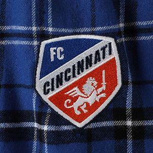Men's Concepts Sport Royal/Black FC Cincinnati Ultimate Flannel Sleep Pants