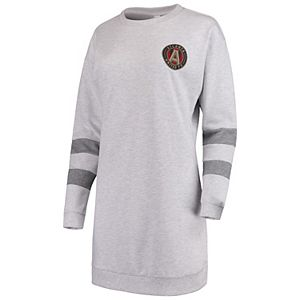Women's ZooZatz Gray Atlanta United FC Sweatshirt Dress