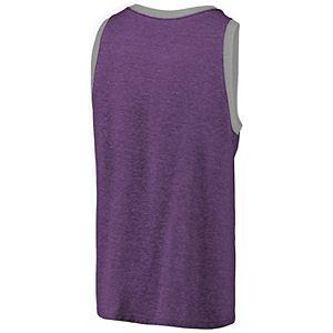 Men's Fanatics Branded Purple Orlando City SC Tri-Blend Tank Top
