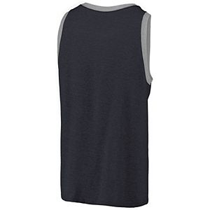Men's Fanatics Branded Navy Vancouver Whitecaps FC Tri-Blend Tank Top