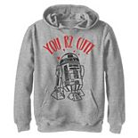 Boys 8-20 Star Wars R2-D2 You Are Too Cute Pullover Graphic Hoodie