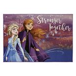 Disney's Frozen ''Stronger Together'' Area Rug - 4'6'' x 6'6''