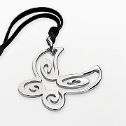 Semantica Stainless Steel Butterfly Pendant