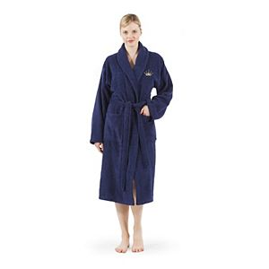 Linum Home Textiles Turkish Cotton Terry Embroidered Bath Robe