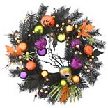 National Tree Company Halloween Fun Wreath