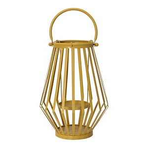 Stratton Home Decor Yellow Lantern Table Decor