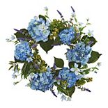 nearly natural Artificial Hydrangea Floral Wreath