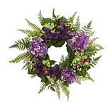 nearly natural Artificial Hydrangea Berry Wreath