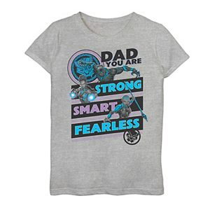 Girls 7-16 Marvel Black Panther Dad You Are Graphic Tee