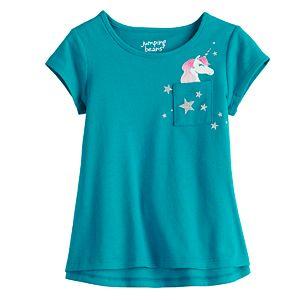 Toddler Girl Jumping Beans® High-Low Swing Tee