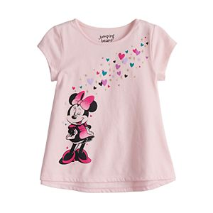 Disney Minnie Mouse Toddler Girl High-Low Swing Tee by Jumping Beans®