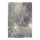 StyleHaven Ashytn Abstract Galaxy Shag Area Rug